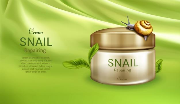 Crema per la cura della pelle Vettore gratuito