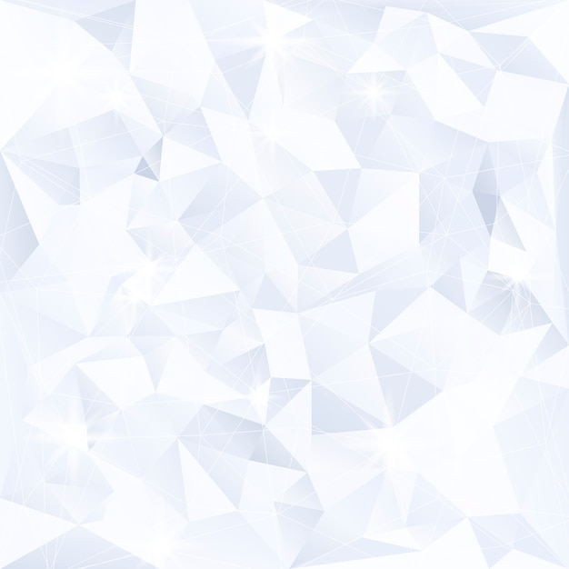 Cristallo blu e bianco con texture di sfondo Vettore gratuito