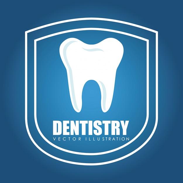 Cure odontoiatriche Vettore Premium