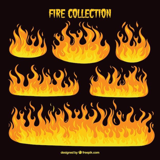 Dato fuoco Vettore gratuito