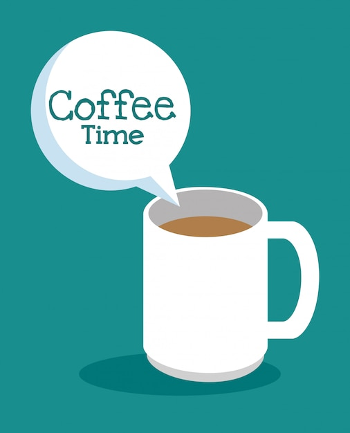 Deliziosa tazza di caffè Vettore gratuito