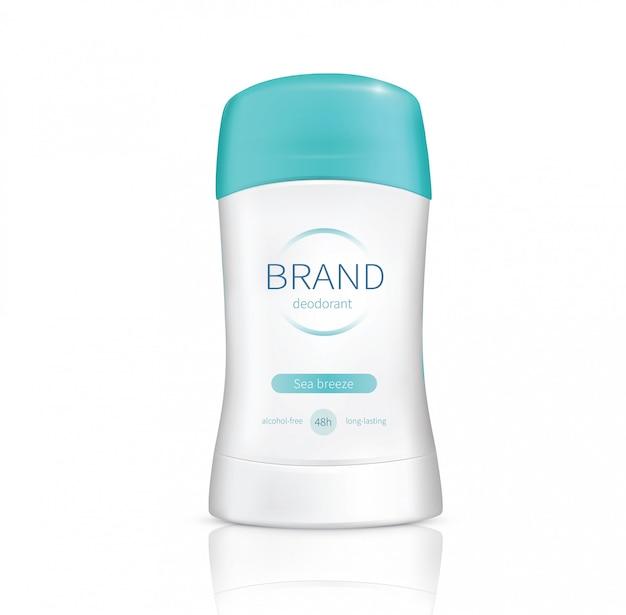 Deodorante realistico bastone asciutto vettoriale Vettore gratuito