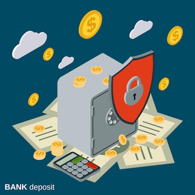Deposito bancario Vettore Premium