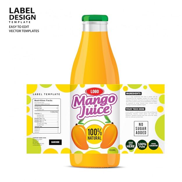 Design dell'etichetta Vettore Premium