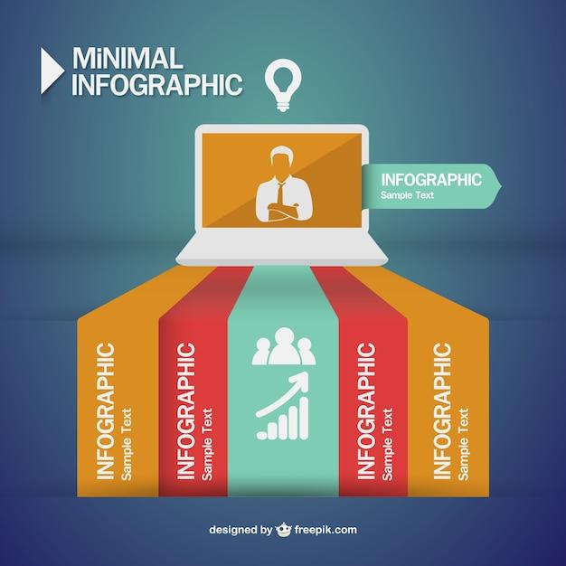 Design della comunicazione uomo d 39 affari infografica for Design della comunicazione universita