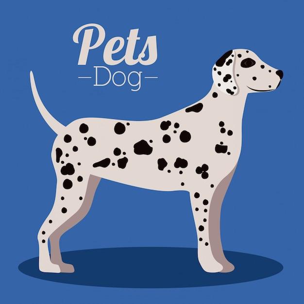 Design di animali domestici Vettore Premium