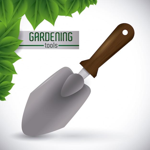 Design di giardinaggio Vettore Premium
