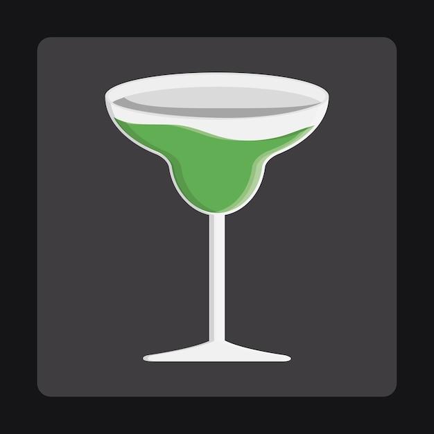 Design di icone di bevande Vettore Premium