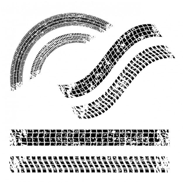 Design di pneumatici Vettore Premium