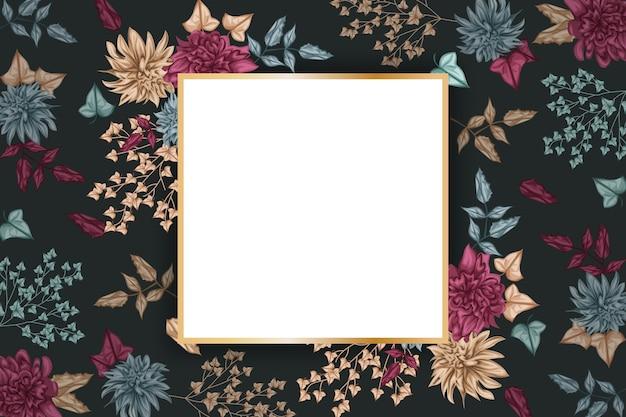 Design distintivo vuoto per lo sfondo Vettore gratuito