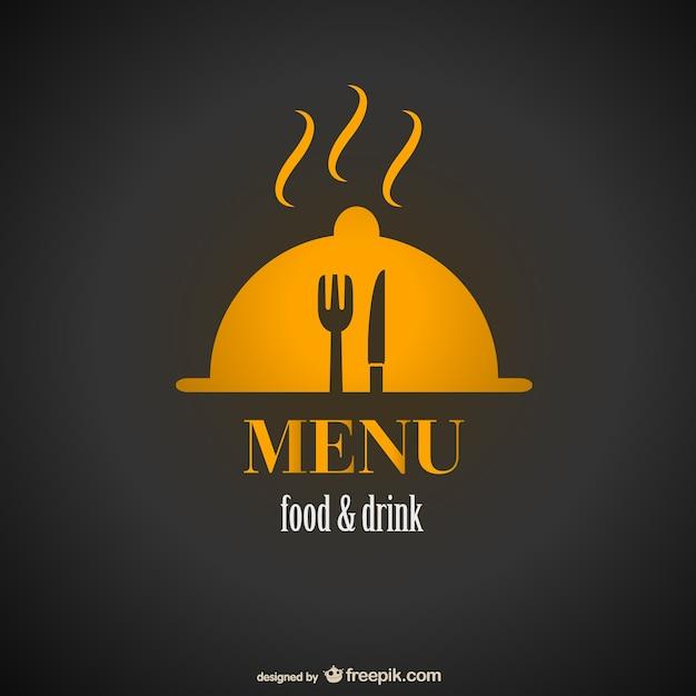 Design menu del ristorante dell'annata libera Vettore gratuito