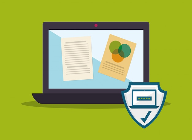Design portatile Vettore Premium