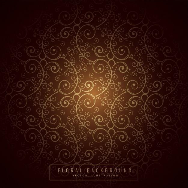 Design premium sfondo floreale Vettore gratuito