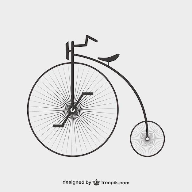 Bicicletta Vettoriale Gratis