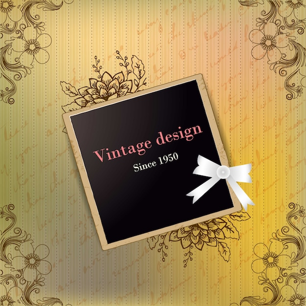 Design vintage polaroi...