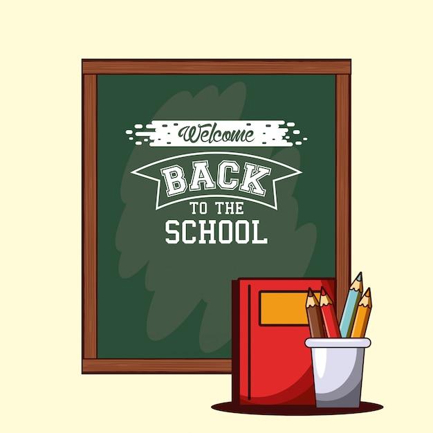 Di nuovo a scuola Vettore gratuito