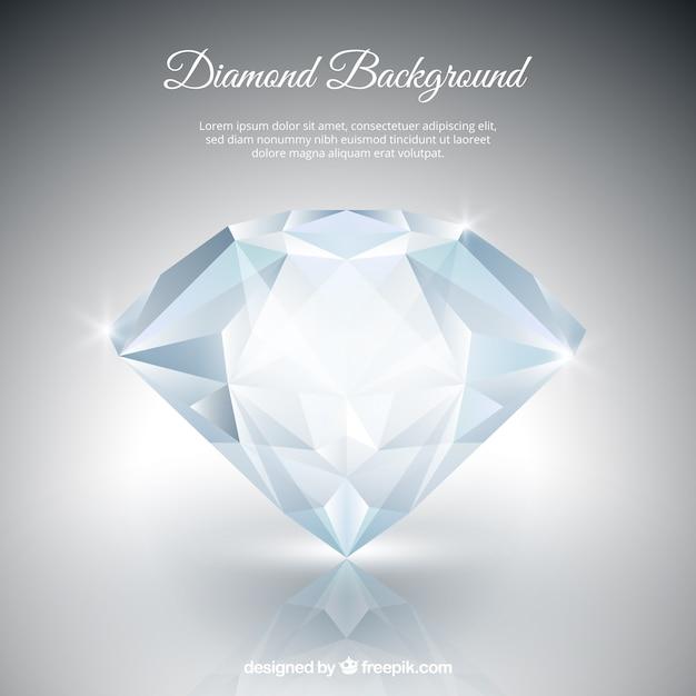 Diamante di fondo Vettore gratuito