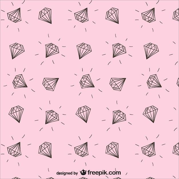 Diamanti modello Vettore gratuito