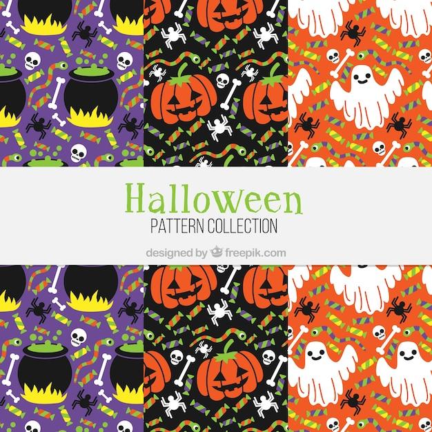 Disegni Colorati Di Halloween Scaricare Vettori Gratis