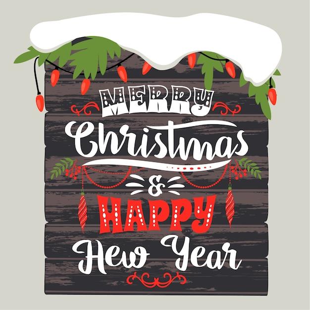 Disegni Di Natale Vettoriali.Disegni Di Natale E Felice Anno Nuovo Elementi Vettoriali
