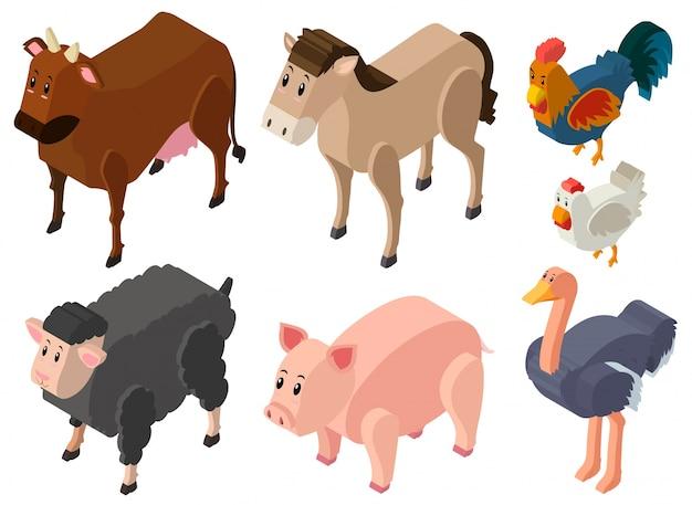 Disegno 3d per gli animali da allevamento scaricare for Disegno 3d gratis