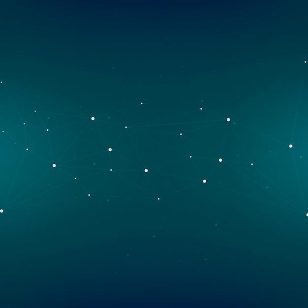 Disegno astratto della priorità bassa con le stelle sul blu Vettore gratuito