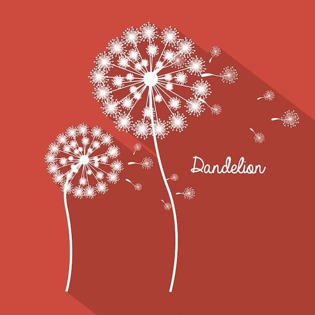 Disegno di fiori Vettore Premium