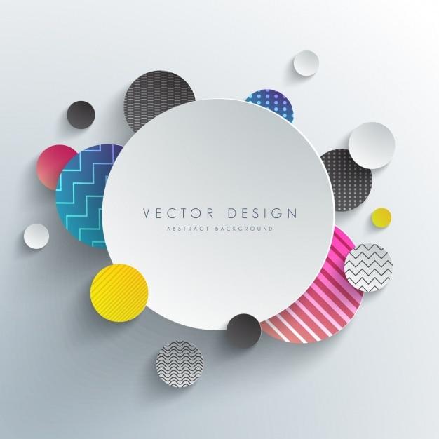 Disegno di sfondo colorato Vettore gratuito