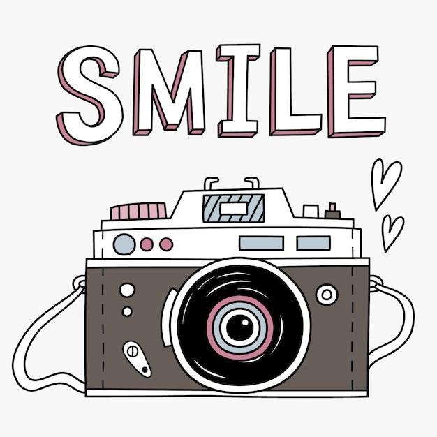 Disegno di sfondo della fotocamera scaricare vettori premium for Camera blueprint maker gratuito