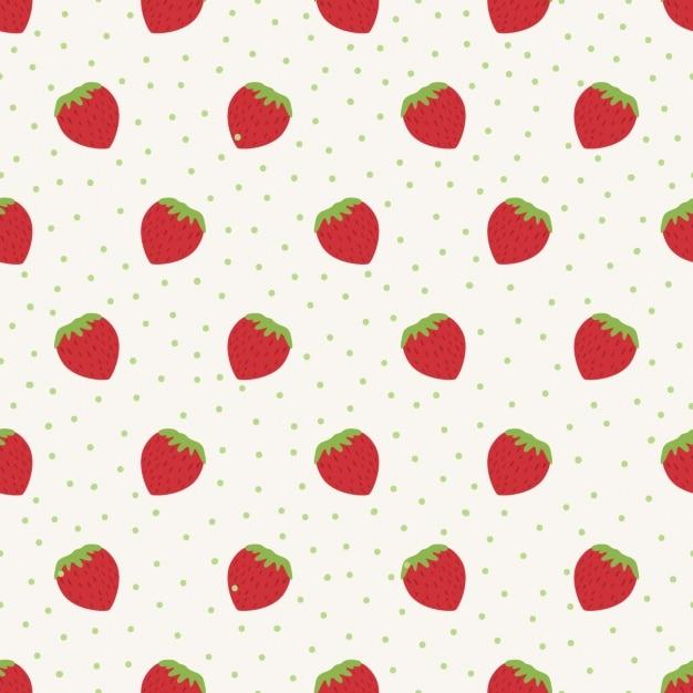 Disegno frutta modello Vettore gratuito