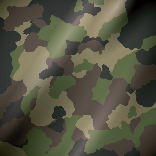 Disegno militare mimetico. Vettore Premium