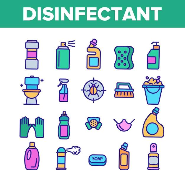 Disinfettante Vettore Premium