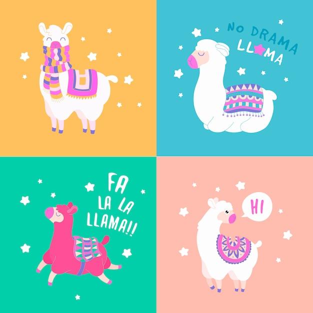 Divertente set di citazione di lama. illustrazione di vettore del carattere della lama del fumetto. Vettore Premium