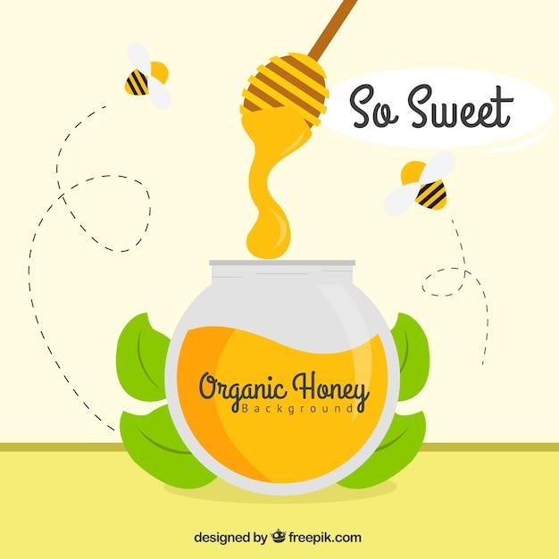 Dolce miele pronto a mangiare scaricare vettori gratis