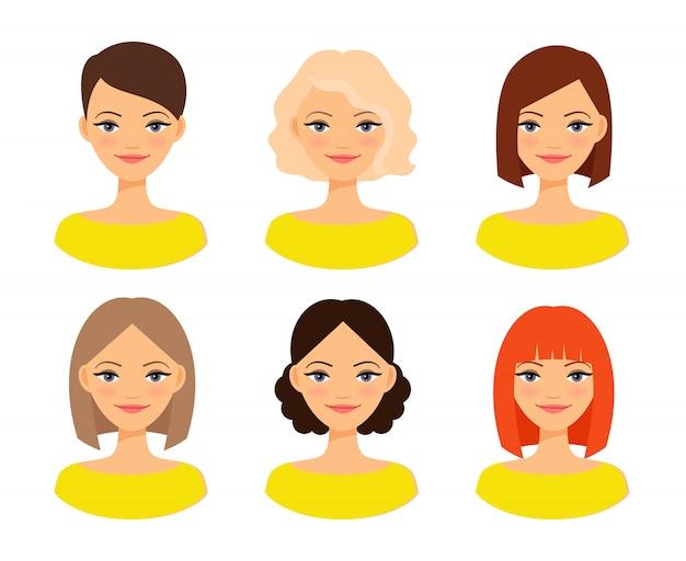 Donne shapewear o illustrazione correttiva femminile di vettore della biancheria intima Vettore Premium