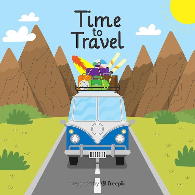 È tempo di viaggiare Vettore gratuito