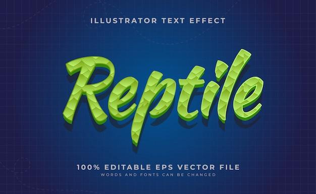 Effetto stile testo modificabile Vettore Premium