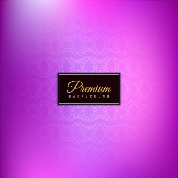 Elegante bellissimo sfondo viola premium Vettore gratuito