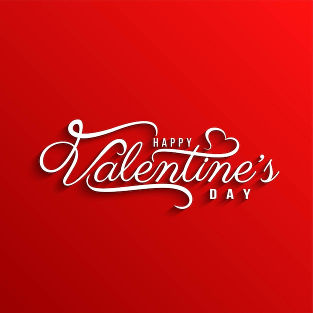 Elegante elegante san valentino felice sfondo Vettore gratuito