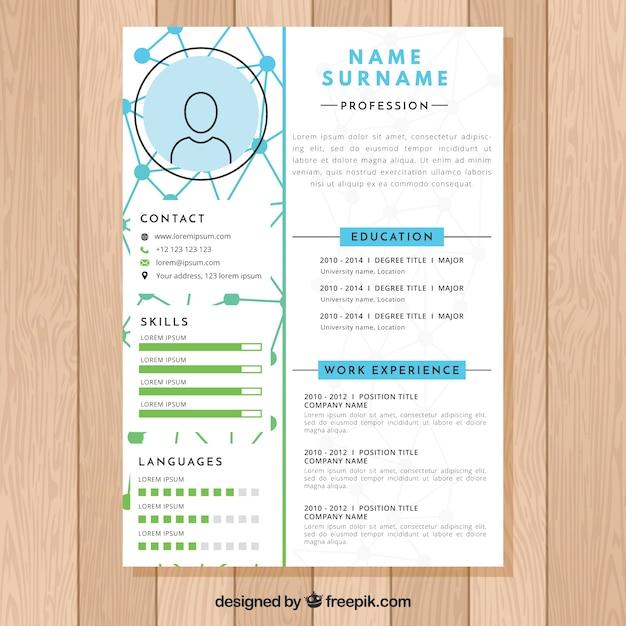 cv design r  les diff rents types de cv selon votre profil