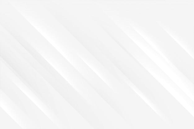 Elegante sfondo bianco con linee lucide Vettore gratuito
