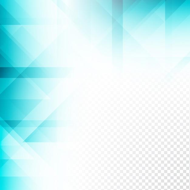 Elegante Sfondo Blu Trasparente Di Colore Geometrico Scaricare