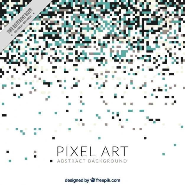 Elegante sfondo di pixel Vettore gratuito