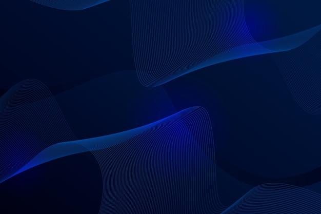 Elegante sfondo netto ondulato scuro Vettore gratuito