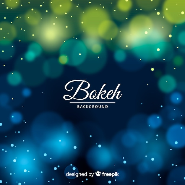 Elegante sfondo sfocato bokeh Vettore gratuito