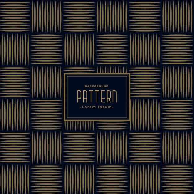Eleganti linee orizzontali e verticali pattern di sfondo Vettore gratuito