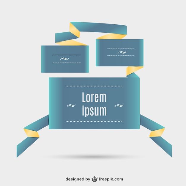 Elementi astratti di web design scaricare vettori gratis for Elementi di design