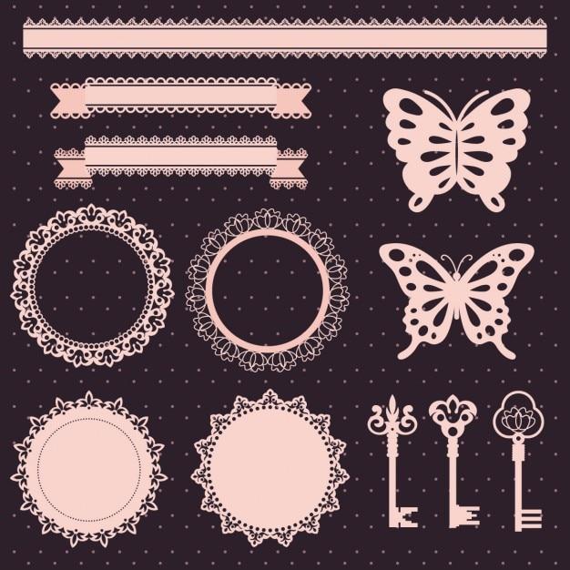 Farfalla foto e vettori gratis for Disposizione seminterrato di design gratuito