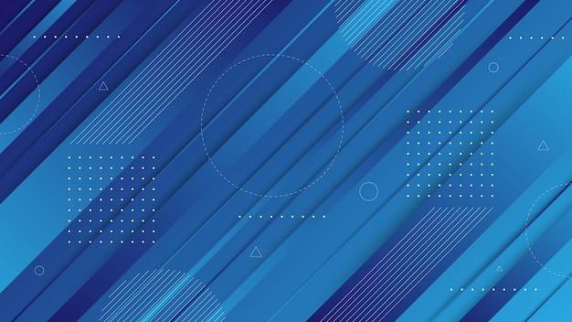 Elementi grafici astratti moderni. bandiere astratte di gradiente con forme fluide fluide e linee diagonali. modelli per la progettazione della pagina di destinazione o lo sfondo del sito web. Vettore Premium
