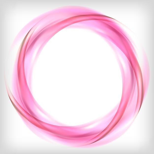 Elemento di disegno astratto in rosa Vettore gratuito